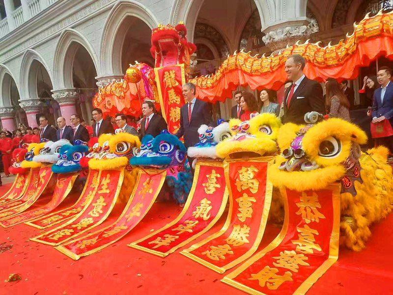 广州公司企业开年醒狮旺场